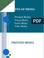 Lesson 15. Types of Media