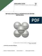 Metodología para el diagnóstico de gestión empresarial