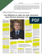 Entrevista a J. Prats Cuevas