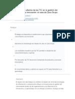 El Análisis de Los Efectos de Las TIC en La Gestión Del Conocimiento y La Innovación