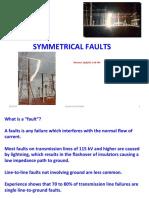 Symmetrical Faults