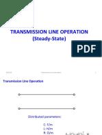 Transmission Line Operation