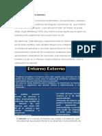 Entorno Externo de La Empresa