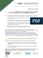 Boletin Prensa Seminarios Daad Apd