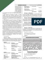 Resolucion de Concejo Directivo Sunass