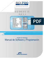 Manual de Software y Programación SW2026