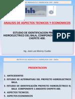 ESTUDIO DE IDENTIFICACION PROYECTO HIDROELÉCTRICO DEL BALA, COMPONENTE 1 ANGOSTO CHEPETE 400.