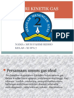 Tugas Perbaikan Teori Kinetik Gas Kelas 11 a 7 Fahmi