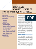 2 Pk Pd Principles Intravenous Anesthesia