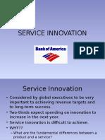 Service Innovation and BoA