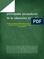 Principales Pensadores de La Educación Infantil