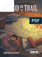 Blood on the Trail o a World of Adventure for Fate Core (9888226)