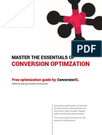 Essentials of Conversion Optimization by ConversionXL