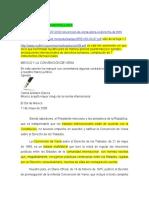 Mexico y La Convención de Viena