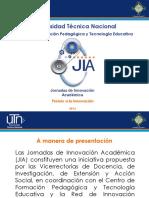 Presentación de Las JIA
