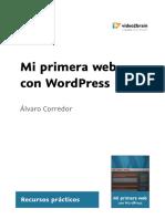 Mi Primera Web Con WordPress