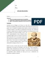 Aristóteles Conceptos Claves