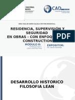 Mod VI - Residencia, Supervisión Y Seguridad de Obras - Con Enfoque Lean Construction