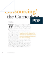 BizEd Magazine Outsourcing Curric