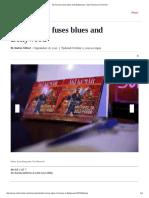 Aki Kumar Fuses Blues and Bollywood - San Francisco Chronicle