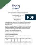 AD1 Evolução 2011-1 Com Respostas