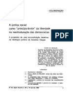 A Justiça Social No Governo Vargas