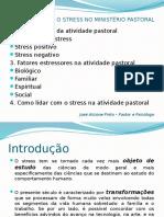 Stress e Ministerio Pastoral