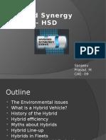 Hybrid Synergy Drive Ppt