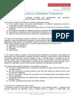 Materialdeapoioextensivo Geografia Exercicios Agricultura Modelos Produtivos