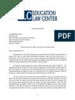 ELC Letter to Commissioner Elia Re NYC C4E Plan
