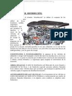 Manual Sistema Distribucion Motores Estructura Componentes Funciones Mecanismos Clasificacion Funcionamiento