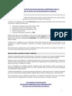 Cuestionario de Autoaplicación Valoración de Dimensiones