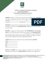 Practica Solidaria Convenio Anexo Para Completar 2 2016