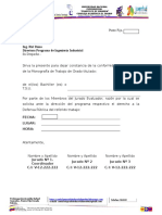Carta de Conformidad Trabajo de Grado