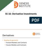 Level 2 2016 SS 16 (Derivatives)