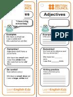 Grammar Reference Card