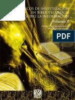 Tópicos de Investigación en  Bibliotecologia y sobre la Informacción - Libro- vol II