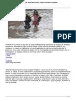 Bagyo Typhoon Baha Floods Landslide Mga Dapat Gawin Bago at Matapos Mangyari (1)