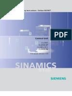 Operating Struction Sinamics G120