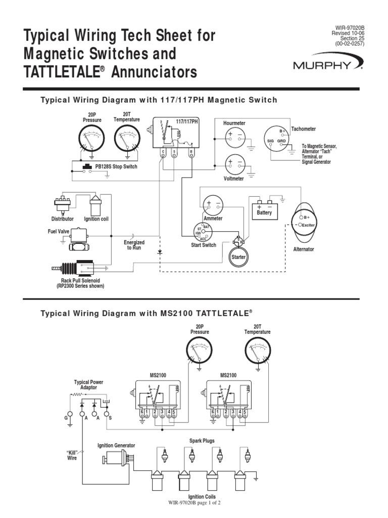 Murphy Switch Wiring Diagram