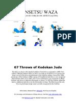 67 Throws of Kodokan Judo