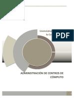 Modelo Administrador de Centros de Computo