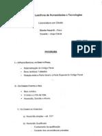 DPenal III Programa