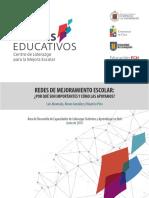 Redes de Mejoramiento Escolar