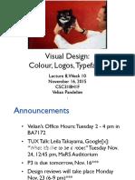 w9 Colour Typography