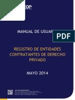Manual Registro de Entidades de Derecho Privado