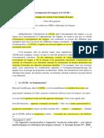 BOURGUIGNON, Claire - L'Enseignement Des Langues Et Le CECRL - d'Une Logique de Contenu à Une Logique de Projet