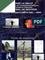 Presentacion PTo de Equilibrio ABC-ABM