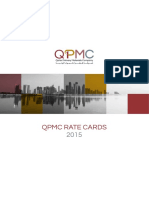 QPMC Rate Cards