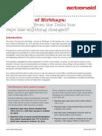 In Memory of Nirbhaya - Media Briefing 1